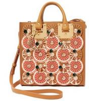 shopbop热销产品 Sophie Hulme 精饰方形手提袋