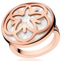 欧米茄Omega FLOWER系列8K红金戒指