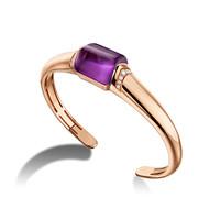 宝格丽Bvlgari MVSA18K紫水晶手镯