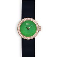 迪奥Dior 镶嵌绿色玉石系列腕表