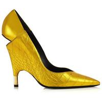 Tom Ford 女士尖头不规则细跟鞋
