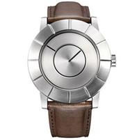 三宅一生 银色简约精钢中性手表