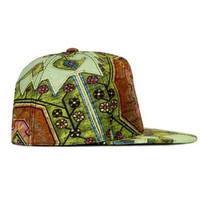 纪梵希Givenchy 印花帆布鸭舌帽