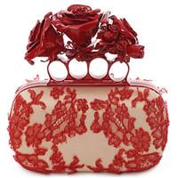 Alexander McQueen 女士刺绣手拿包