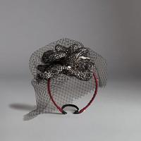 杜嘉班纳 花朵面纱式发带