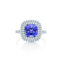 蒂芙尼Tiffany 坦桑钻石戒指