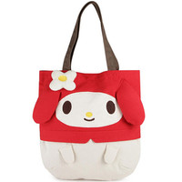 hello kitty 帆布大手提袋