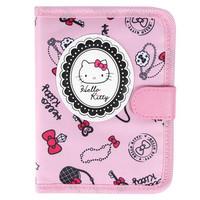 Hello Kitty 粉色女士护照包