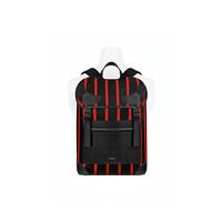 纪梵希Givenchy RIDER红色条纹尼龙箱形背包