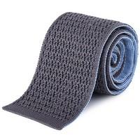 爱马仕(Hermès) 浅蓝/灰色领带