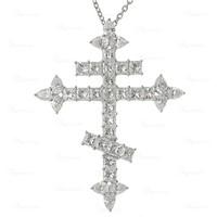 海瑞温斯顿10.86克拉钻石珀金项链