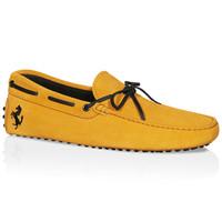 Tod's for Ferrari小山羊皮豆豆鞋