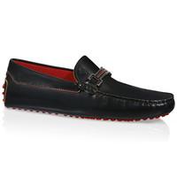 Tod's for Ferrari真皮豆豆鞋