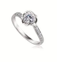 Forevermark永恒印记心悦系列单颗美钻戒指密镶款2