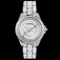 香奈儿Chanel J12高级珠宝腕表