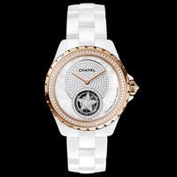 香奈儿Chanel  J12浮动式陀飞轮腕表