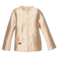 SHIATZY CHEN 几何兰花系列刺绣短外套