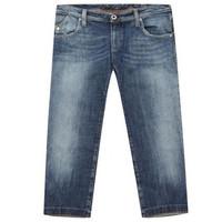 阿玛尼GIORGIO ARMANI 七分裤款式牛仔裤