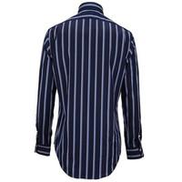 拉夫·劳伦(Ralph Lauren)男士纯棉条纹长袖衬衫