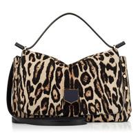Jimmy Choo 女士豹纹印花手提包