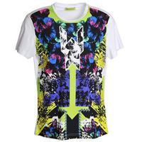 范思哲Versace 男士印花时尚T恤