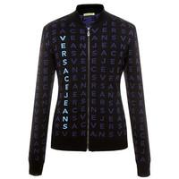 范思哲Versace 经典字母印花针织衫