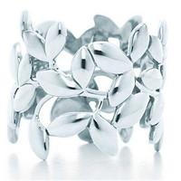 蒂芙尼Tiffany 橄榄叶戒指