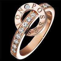伯爵(Piaget)玫瑰金钻石指环