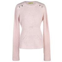 范思哲Versace 安哥山羊毛混纺长袖毛衫
