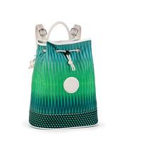 凯浦林Kipling SPF16AUDRIANA绿色瀑布圆点组合双肩包