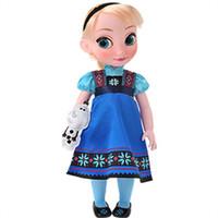 迪士尼 冰雪奇缘艾莎公主玩偶