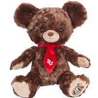 迪士尼 大学熊系列摩卡小熊毛绒玩具