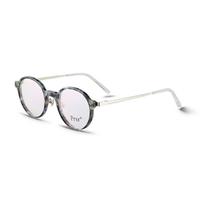 帕莎框架镜女眼镜光学镜圆形无镜片眼镜架