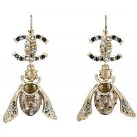 香奈儿Chanel 昆虫造型耳环