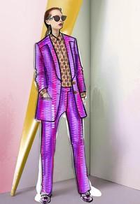 Trussardi Elegantly Pop 系列,优雅典范!