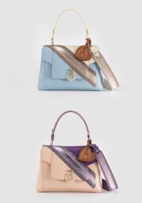 LOVY 包袋独家时装秀款现于斯卡拉广场的 TRUSSARDI 精品店中独家展出