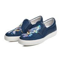 ST&SAT刺绣滑板鞋