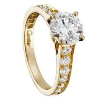 卡地亚Cartier 新款女士1895订婚钻戒