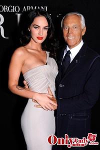 阿玛尼携手Megan Fox演绎极致优雅