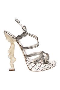 DIOR非洲元素图腾女神高跟鞋
