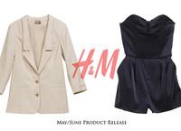 H&M 09年五六月新品抢先看