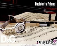 好伴时尚——D&G腕表展现低调精装上品风