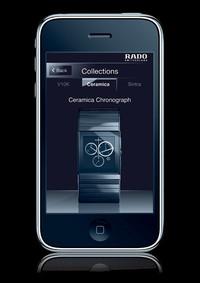 创新无止境 瑞士雷达表推出i-Phone手机应用软件