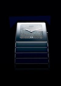 瑞士雷达表整体陶瓷满天星系列铂金色腕表