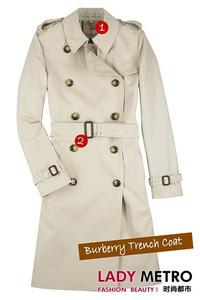 时尚经典单品Burberry战壕风衣