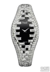 以宝石织就的伯爵珠宝腕表