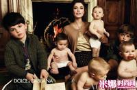 安卡·巴尔蒂扮靓妈,Dolce &Gabbana 2012秋季大片