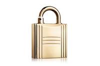 爱马仕锁形金属香水外壳 锁着香气锁着尊贵