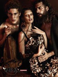 Bianca Balti 再度演绎D&G 展现复古的迷离