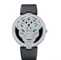野性图腾魅力 卡地亚猎豹系列女士腕表